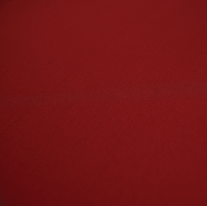 Close up of a red spandex tablecloth.